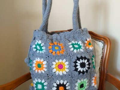 Borse Granny in lana.