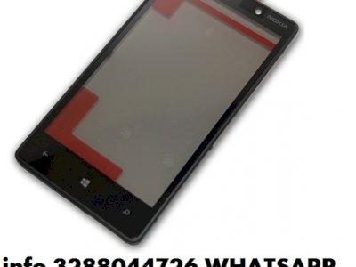 Vetro nokia lumia 820,800,710,720,610,900 touch screen + frame
