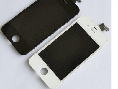 Vetro + lcd+ touch screen iphone 4, 4g, 4s, 5 5s tutti i colori