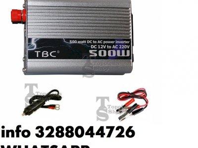 Inverter 12 220 500 w convertitore 12v 220v 500w altre potenze