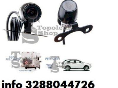 Telecamera camera retromarcia auto camper camion 420 tv line