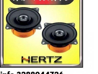 Hertz new dieci dcx165.3 coppia casse coassiali a 2 vie da 1