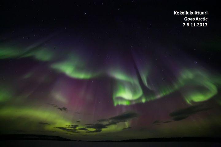 Kokeilukulttuuri goes arctic haasteiden kehittely