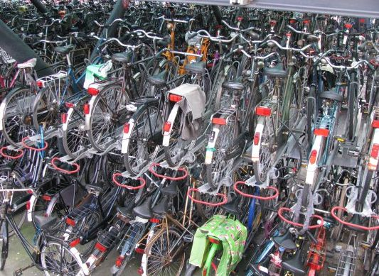 Omat polkupyörät kaupunkipyöriksi