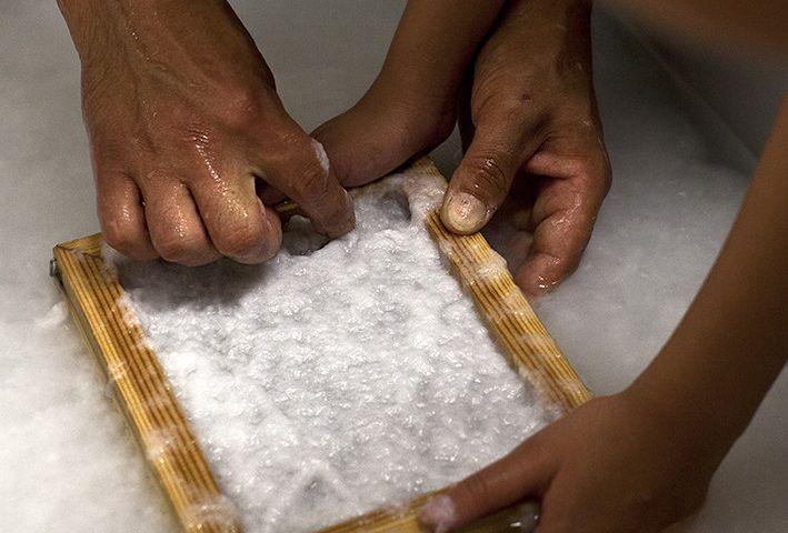 Tekstiilijätteestä paperia