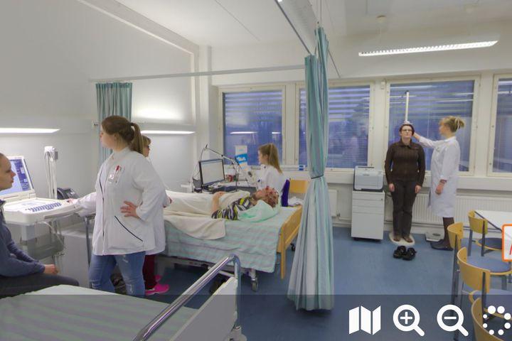 Potilasohjauksen pelillistäminen 360-teknologian avulla