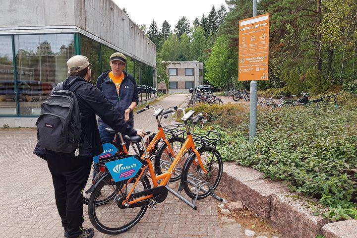 Kampuksen kestävän liikenteen edistäminen kokeiluilla
