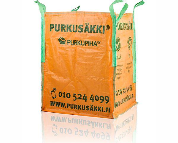 Remonttijätteen keräyksestä asiakaslähtöinen arvoketjuplatformi - Case Purkusäkki