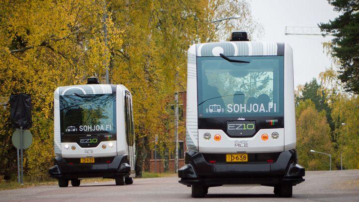 AIKO Smart City Robottilogistiikka -hanke