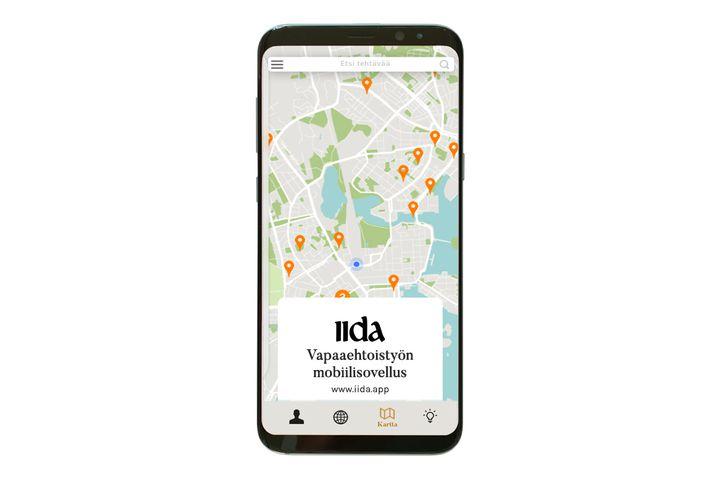 Iida - vapaaehtoistyön mobiilisovellus