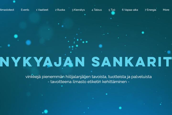 nykyajansankarit.fi - hiilijalkaa kevyemmäksi