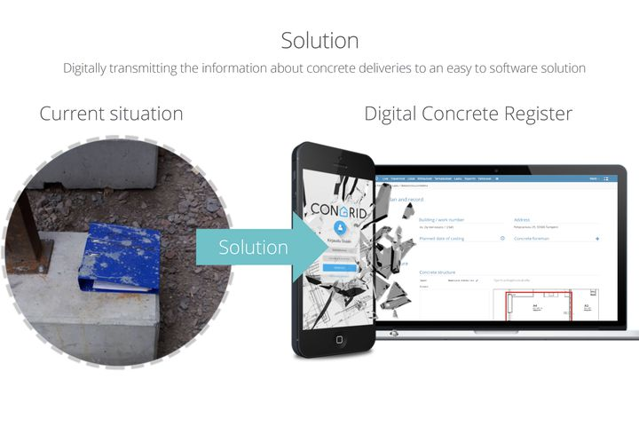 KIRA-digi kärkihanke - Development and pilot of a digital concrete register