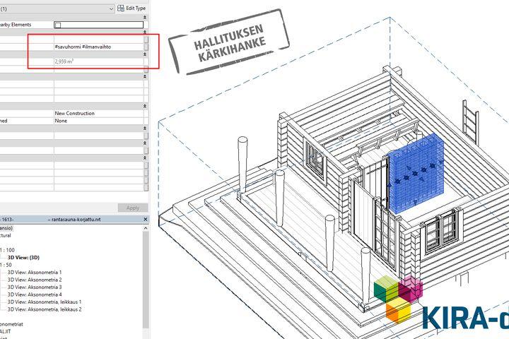 Bimtag - Ketterästi ideasta vaikutukseen: käyttäjän luettava metadata BIM-mallissa