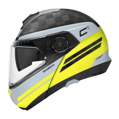 C4 Pro Carbon Tempest Yellow 90