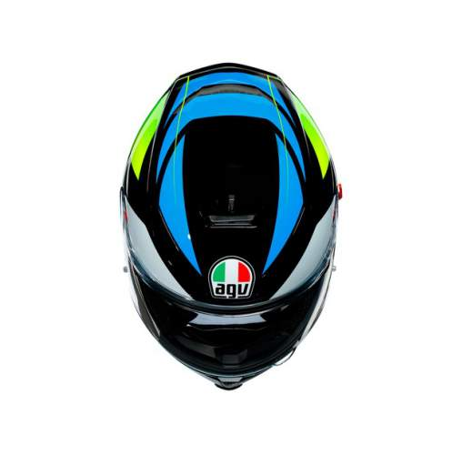 Agv K5 S E2205 Multi Core Black Cyan Yellow Fluo 4