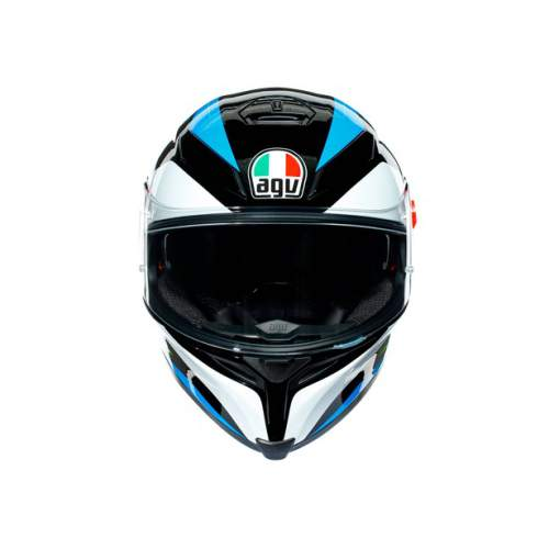Agv K5 S E2205 Multi Core Black Cyan Yellow Fluo 5