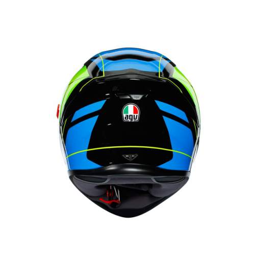Agv K5 S E2205 Multi Core Black Cyan Yellow Fluo 7
