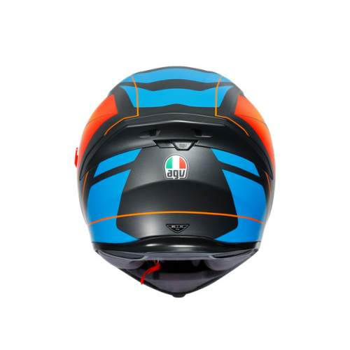 Agv K5 S E2205 Multi Core Matt Black Blue Orange 3