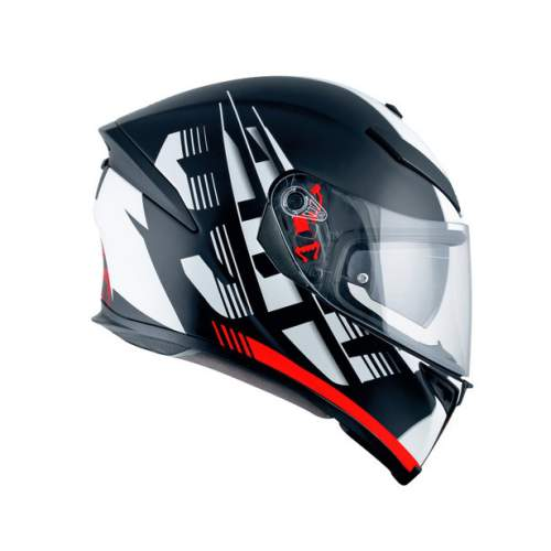 Agv K5 S E2205 Multi Darkstorm Matt Black Red 2