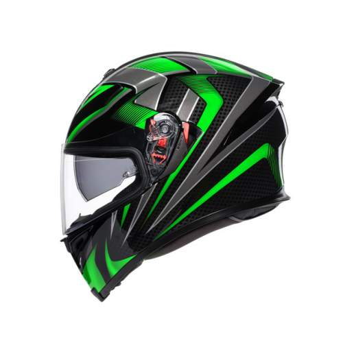 Agv K5 S E2205 Multi Hurricane 2 Black Green 2