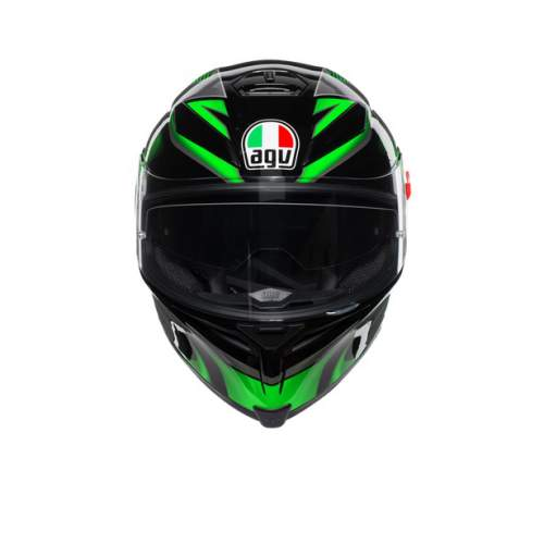 Agv K5 S E2205 Multi Hurricane 2 Black Green 3