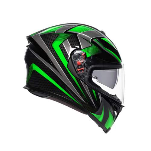 Agv K5 S E2205 Multi Hurricane 2 Black Green 4