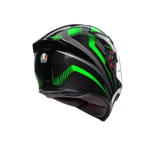 Agv K5 S E2205 Multi Hurricane 2 Black Green 5