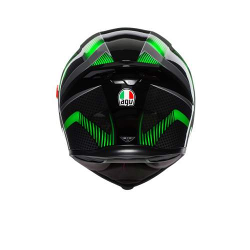 Agv K5 S E2205 Multi Hurricane 2 Black Green 6