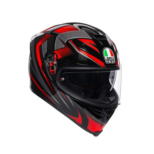 Agv K5 S E2205 Multi Hurricane 2 Black Red 1