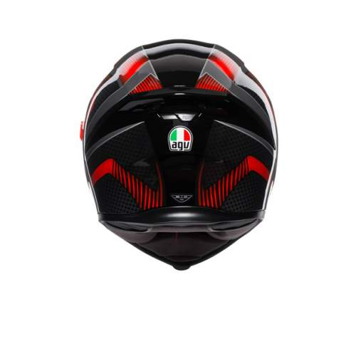 Agv K5 S E2205 Multi Hurricane 2 Black Red 2