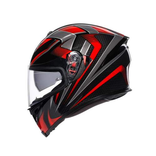 Agv K5 S E2205 Multi Hurricane 2 Black Red 3