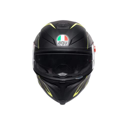 Agv K5 S E2205 Multi Tornado Matt Black Yellow Fluo 2