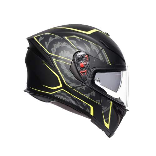 Agv K5 S E2205 Multi Tornado Matt Black Yellow Fluo 5
