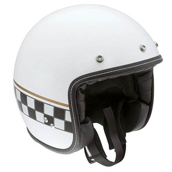 Casco Moto Agv Rp60 Cafe Racer Bianco
