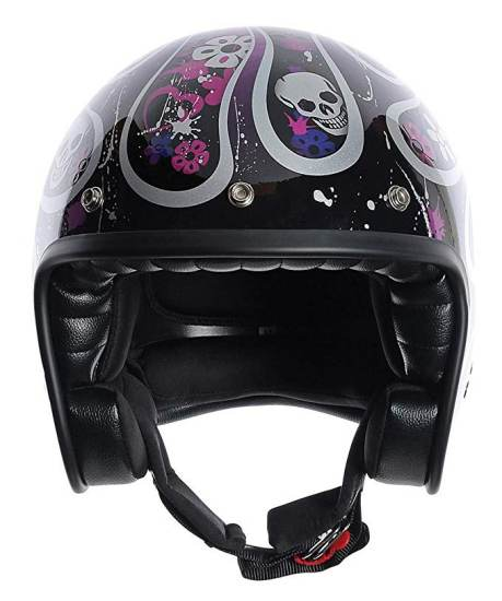 Casco Moto Agv Rp60 Nero Multicolore Skully 1