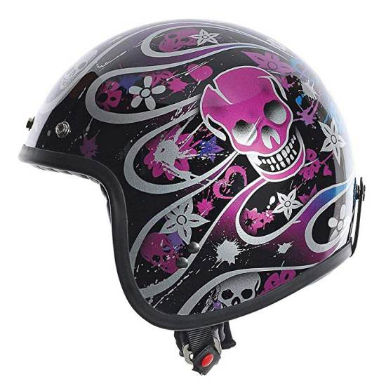 Casco Moto Agv Rp60 Nero Multicolore Skully 2