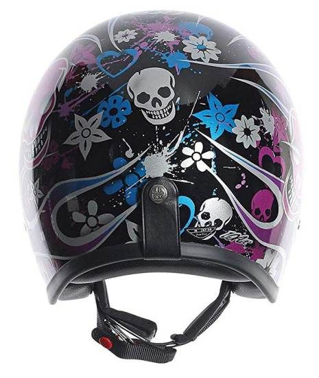 Casco Moto Agv Rp60 Nero Multicolore Skully 3