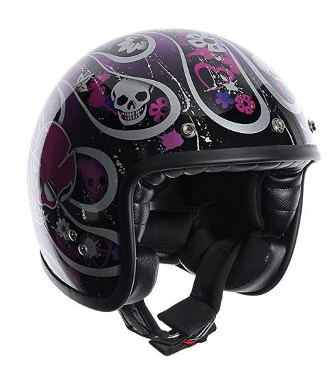 Casco Moto Agv Rp60 Nero Multicolore Skully 4