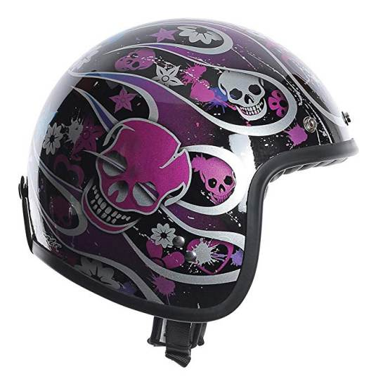 Casco Moto Agv Rp60 Nero Multicolore Skully 5