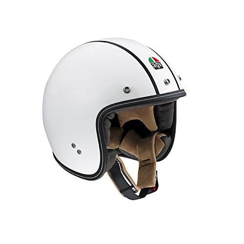 Casco Moto Rp60 E2205 Agv 1101a2c0 Bianco Bonnevile Gladiator 1
