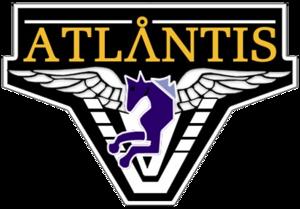 Atlantis Lanyard Silver A2096