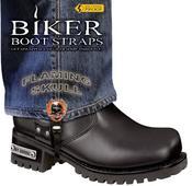 Biker Boot Straps