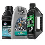 Motorcycle Oils Fluids & Chemicals