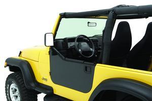 Bestop HighRock 4x4 Element Doors Enclosure Panels - Jeep 1980-2006 CJ7 And Wran