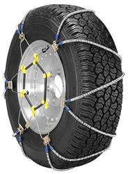 Security Chain ZT751 Winter Tire Chain pack of 2 with Chain Tighteder
