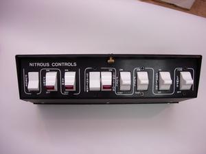 AUTO ROD CONTROLS Roll Bar Mount Pro Stock Nitrous Control Switch Panel P/N 3701