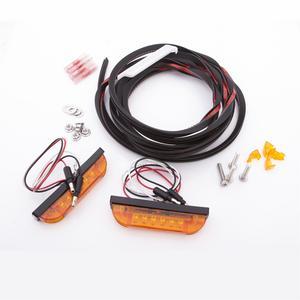 Bushwacker PK1-LT1-0003 LED Marker Light Kit Fits 07-18 Wrangler (JK)