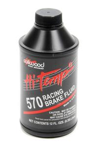 WILWOOD 12 oz DOT 4 570 Hi-Temp Racing Brake Fluid P/N 290-0632