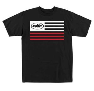 FMF Youth Steadfast Tee Shirt T-Shirt Black 2XL