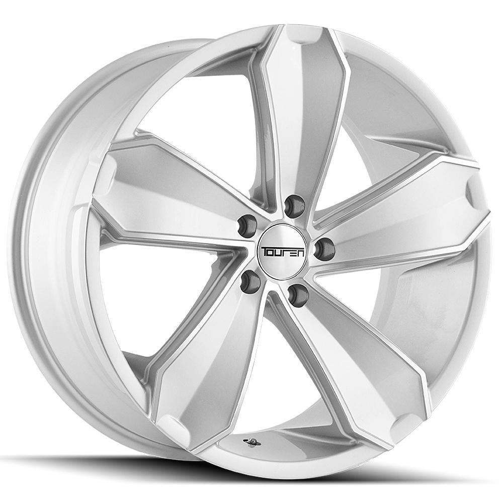 """Touren TR71 20x10 5x120 +20mm Silver Wheel Rim 20"""" Inch"""